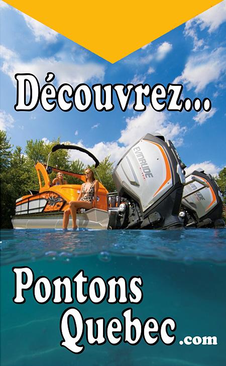 Visitez Pontons Quebec !